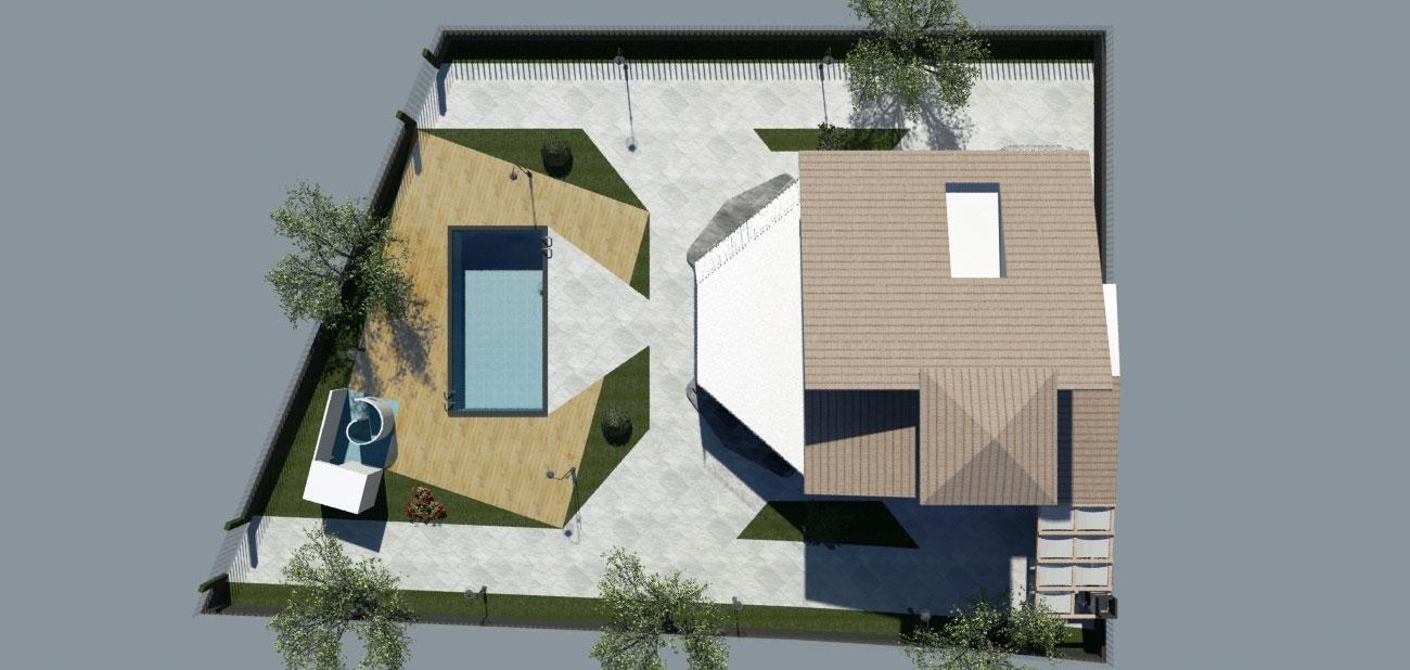 Residenza monofamiliare Studio Tecnico Loggia Gela